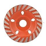 Disco de molienda de la rueda de la taza de molienda del segmento de diamante engrosado de Liukouu para la piedra concreta de mármol(80mm)
