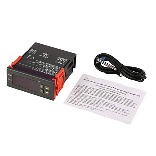 Tree-on-Life MH1210B AC220V Thermostatregler Digitaler Temperaturregler Thermoelementregler Sensor Interne Alarmfunktion -