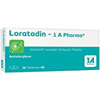 Loratadin-1A Pharma 20 stk preisvergleich bei billige-tabletten.eu