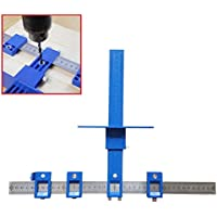Alftek staccabile perforatrice Jig Tool trapano manicotto guida cabinet Hardware legno drilling Dowelling - Trova i prezzi più bassi