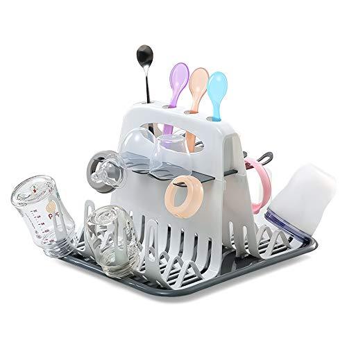 HLJ Trockenständer Babyflaschenabtropfgestelle,Trockengestell/Abtropfgestell/Flaschenhalter/Fläschchen-Ständer