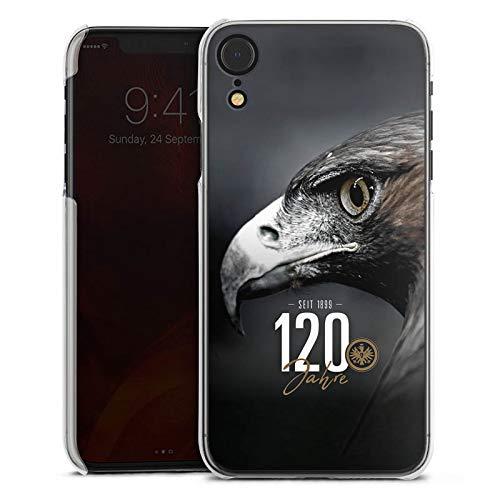 DeinDesign Hülle kompatibel mit Apple iPhone Xr Handyhülle Case Eintracht Frankfurt 120 Jahre Adler