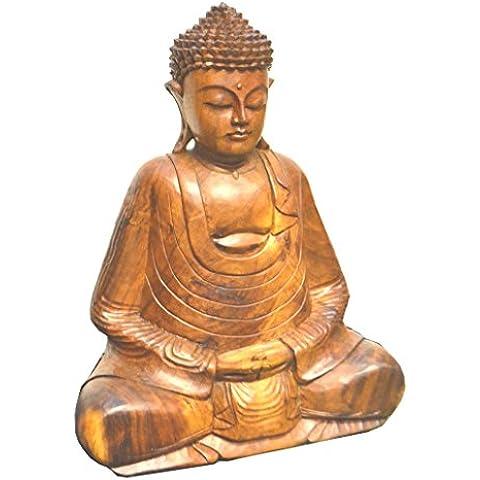 Comercio justo mano tallada–Estatuas de Buda de meditación todos los tamaños & Estilos,
