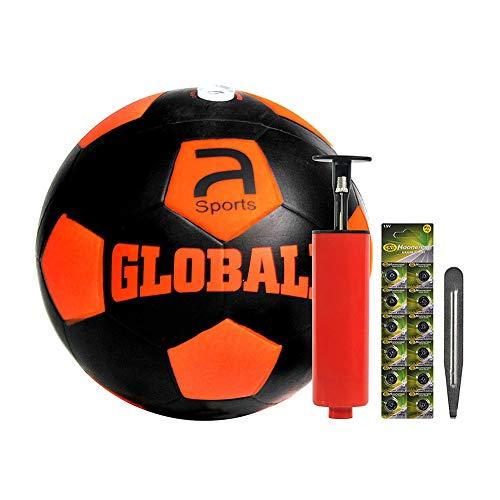 MoreBuyBuy Novel Rubber LED leuchtet Jugend Soccer Ball für Indoor-und Outdoor-Spiel, leuchtet auf Auswirkungen, Glow in der Dunkelheit, offizielle Größe und Gewicht, großes Geschenk