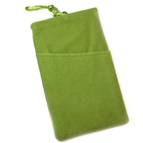 Schutzhülle Tasche Aspekt Velour Grün für Huawei Ascend D1Quad XL