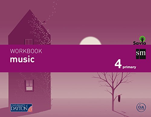 Music. 4 Primary. Savia. Workbook - 9788415743781 por Fátima Batista Ponce