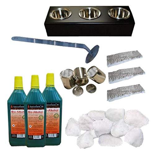 Chimenea-de-bioetanol-y-modelo-gel-Venecia-Premium-eleccin-de-9-colores-Granito-oscuro