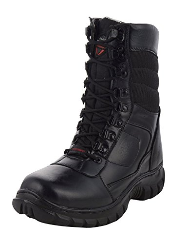 Para Trooper Men's Black Leather Combat Boots - 10 UK