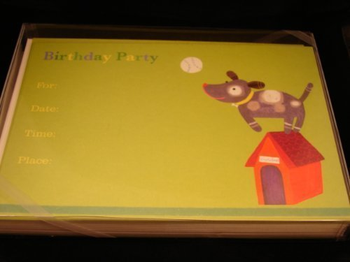 by-design-design-dog-ball-thunder-design-design-birthday-invitations-jill-mcdonald-10-invites-envelo
