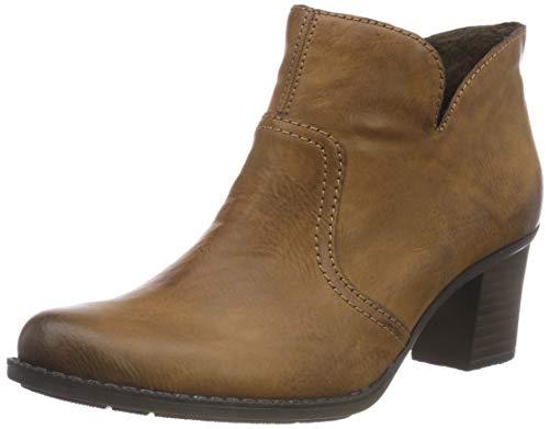 Rieker Damen L7688 Kurzschaft Stiefel, Braun (Chestnut 22), 41 EU