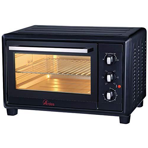 Ardes Mini horno eléctrico de convección negro 40L, 1500W