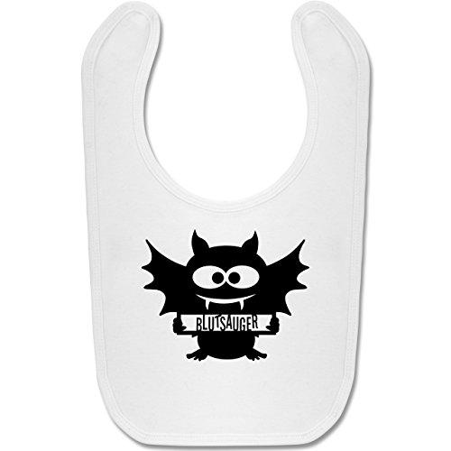 & Muttertag - Fledermaus - Unisize - Weiß - BZ12 - Baby Lätzchen Baumwolle (4 Monat Altes Baby Mädchen Halloween Kostüme)