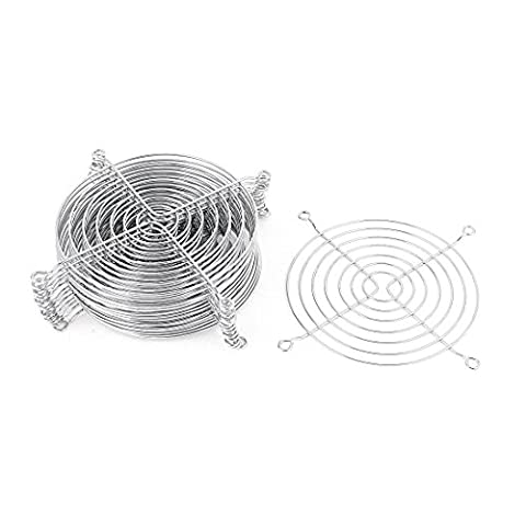 Cooling Grill - TOOGOO(R) Metal Wire Finger Guard Grill 15 Pcs for 120mm Computer PC Cooling Fan