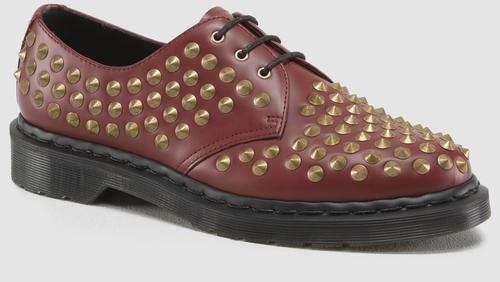 Dr. Martens R14715 pour homme Harlen Originals Chaussures Rouge cerise 12–12.5 D (M) US – Taille : 11