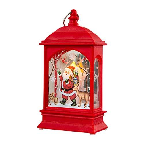 Kleiner Mann Kostüm Alter Baby - WOBANG Weihnachten Deko - Christmas Weihnachtsbaum Weihnachten Dekoration glühender Alter Mann, Schneemann, Rotwild, Verzierungen, Lichter (F)