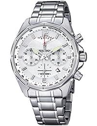 Festina Herren-Armbanduhr TIMELESS Chronograph Quarz Edelstahl F6835-1