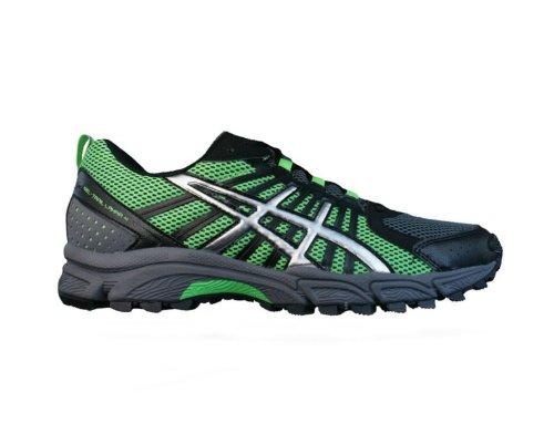 asics-gel-trail-lahar-4-hommes-running-chaussures-chaussures-noir-vert-size-eu-39