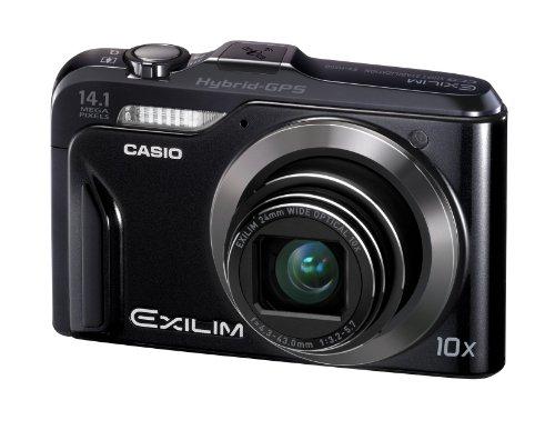 Casio Exilim EX-H20G GPS-Digitalkamera (14 Megapixel, 10-fach opt, Zoom, 7,6 cm (3 Zoll) Display, bildstabilisiert) schwarz
