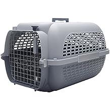 Dogit Transportín para Perros, Talla Extra-Grande, Color Gris, 66 x 45 x 43 cm