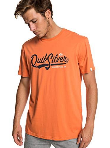 Quiksilver Quik Pool T- T-Shirt Homme, Flamingo, FR : L (Taille Fabricant : L)