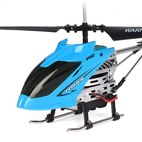 Sisit Hubschrauber mit Fernbedienung mehr als 50 m als Altitude Hold RC Alloy Drohne Spielzeug Geschenk geeignet für Neue Spieler mit Einer Taste EIN- und aus Druckhöhe schweben (Blau)