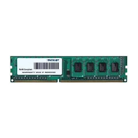 Patriot PSD34G133381 4GB (1x4GB) DDR3 1333MHz Signature Single Channel Memory Stick