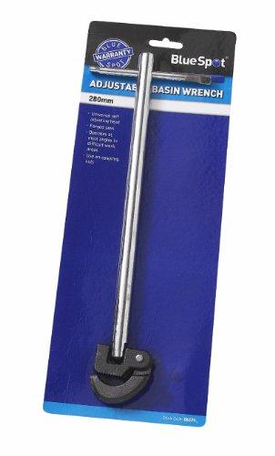 27,94 cm Verstellbarer Standhahnmutterschlüssel Spüle Windeisen 280 mm Backen geschmiedet