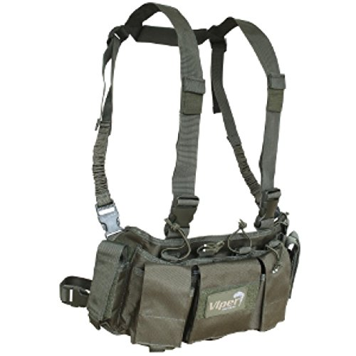 VIPER SPECIAL OPS CHEST RIG HARNESS WITH MAGAZINE POUCHES AIRSOFT (Taktische Harness Chest)