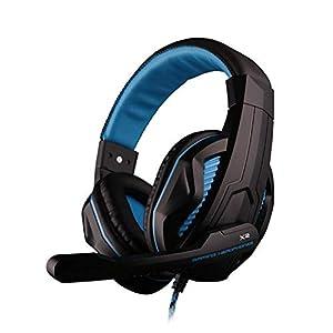 LYDB Gaming-Kopfhörer Stereo-Sound über das Ohr Geräuschisolierung, 3,5-mm-Kabel-Headset für PC Xbox One PS4 Nnintedo…