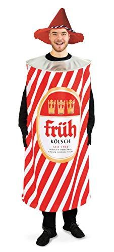 Kostüm Köln Rot Weiß Herren - KarnevalsTeufel Kostüm - Set Kölsch, 2-teilig