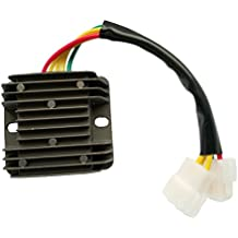 perfk 1 unidad voltage Regulador Rectificador Solenoid compatible con Hyosung GT650R GT650 GV650 GV700