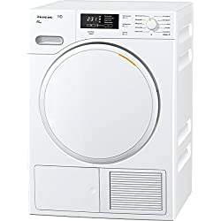 Miele TMB540 WP Eco Freestanding Front-load 8kg A++ White - tumble dryers (Freestanding, Front-load, Heat pump, White, Buttons, Rotary, Left)