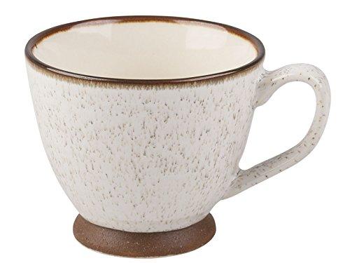 La Cafetière Petite texturé Crème Tasse de thé, Taupe