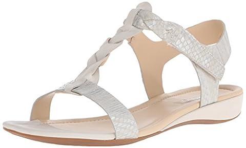 ECCO Bouillon, Women's Sandals, White - Weiß (WHITE/WHITE-SILVER METALLIC59730), 6.5 UK