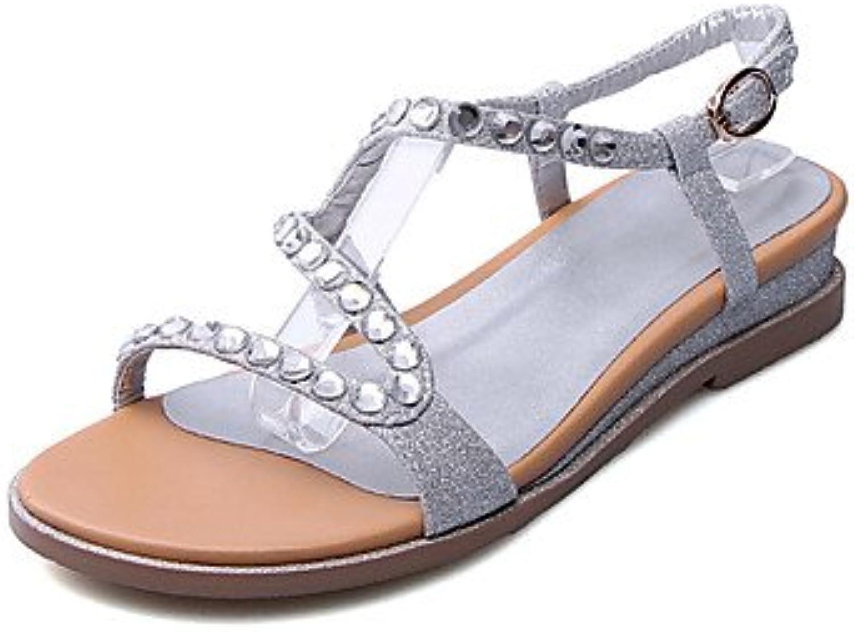 Zormey Sandalias De Mujer Zapatos Club Oficina De Microfibra &Amp; Carrera Parte &Amp; Vestido De Noche Talón...