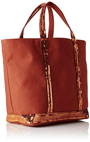 Shopping Bag Vanessa Bruno Donna Cabas Moyen, 16 X 30 X 43 Cm Marrone (fauve)