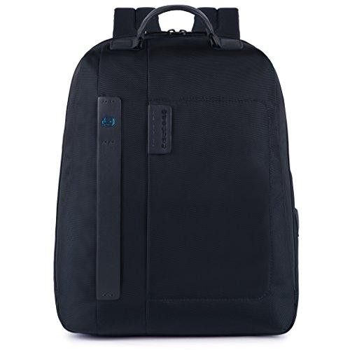 Zaino grande un comparto in tessuto Porta Pc 15.6' | Piquadro Pulse | CA3349P16-Blu2