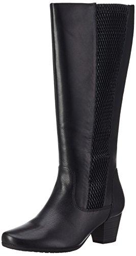 Caprice25504 - Stivali a gamba lunga, imbottitura leggera Donna, Nero (BLACK 1), 36