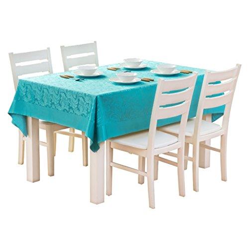 Xi Man Shop Rechteckige Tischdecken Einfarbige Tischdecken Wasserdichte und bügelnde Tischdecken TV-Möbel Tischdecke Staubschutztuch (Size : 130*180)