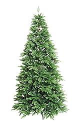 Xone Bristol, albero di Natale realistico con struttura longilinea da 180 cm, 210 cm e 240 cm