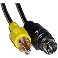 BeMatik - Cable S-VHS 3m (MiniDIN7-M/RCA-M)