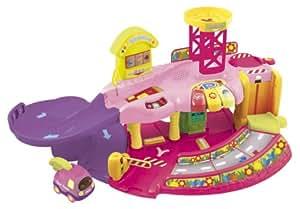 Vtech 124955 jouet de premier age tut tut bolides - Garage educatif tut tut bolides rose ...