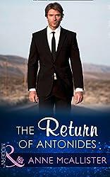 The Return Of Antonides (Mills & Boon Modern)