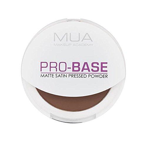 MUA Pro Base Matte Satin Pressed Powder - Cocoa