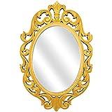 RoyalsCart Decorative Wooden Wall Mirror [KTM1]