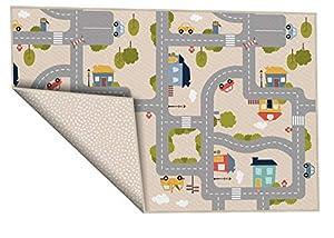 House Of Kids Verkehrssituation AchokaStadswijk 100x150 cm Beige
