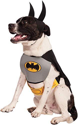 Rubie\'s offizielles Hundekostüm, Batman, Größe: L.