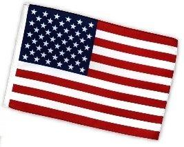 Fahne Flagge USA 30 x 45 cm (Usa-flagge Dekorationen)