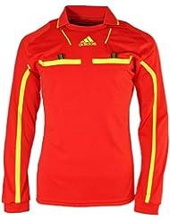 11-12 Adidas Schiedsrichter L/S Trikot - rot P49173