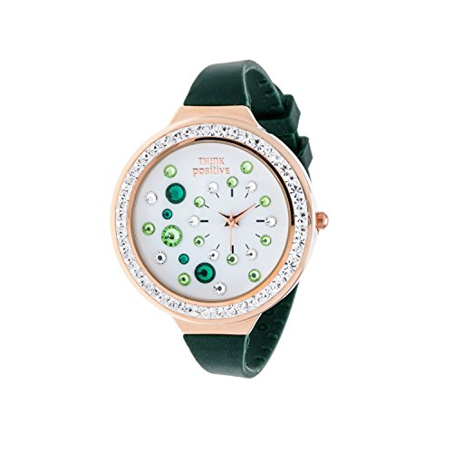 ladies-think-positiver-model-se-w91-rose-strap-of-silicone-color-military-green